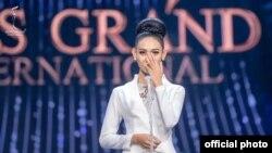 အလွမယ္ ဟန္ေလး ( Miss Grand International 2020 ၿပဳိင္ပဲြဝင္ ) (photo - Miss Grand International )