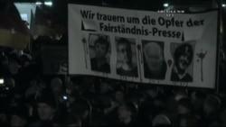 Almanya'da Gösteriler Sürüyor