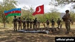 Azərbaycan və Türkiyə hərbçiləri Laçın rayonunda birgə taktiki təlimlərə başlayıb