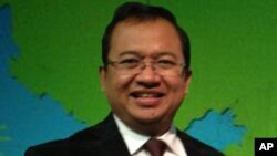 Priyo Budi Santoso, Wakil Ketua DPR-RI, pimpinan delegasi Kaukus DPR-Amerika (26/4)