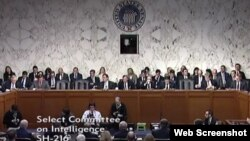 نشست کمیته اطلاعات سنا برای بررسی تهدیدهای جهانی علیه امنیت ملی ایالات متحده - ۲۴ بهمن ۱۳۹۶