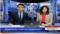 Laporan Langsung VOA untuk Metro TV: Hari Kedua Konvensi Nasional Partai Demokrat