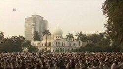 ວີດິໂອ-ຊາວມຸສລິມຢູ່ທົ່ວໂລກກໍາລັງສະຫລອງບຸນ Eid al-Fitr