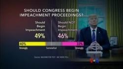 သမၼတ Trump ကို အေရးယူသင့္-မသင့္ လူထုစစ္တမ္း