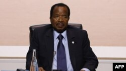 Cameroon President Paul Biya addresses his countrymen, saying tensions in the English-speaking regions that began more than a year ago have abated.