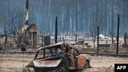 Rusiyada meşə yanğınları Kursk nüvə elektrik stansiyasının yerləşdiyi Bryansk regionunda davam edir