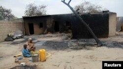 Baga après les affrontements de 2013 (Archives)