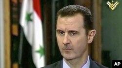 敘利亞總統阿薩德5月30日發表電視講話