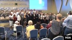 Konferencija povodom međunarodnog dana nestalih koji se obeležava 30 avgusta, u Prištini, 27. avgusta 2019.