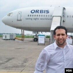 Manajer Komunikasi Orbis Internasional, Adam Tageldin (16/3)