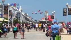 Kampung Amerika: Piknik Nok Pantai AS Mulai Rame