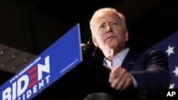Колишній віце-прем'єр США виступає під час виборчої кампанії