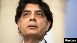 Pakistan's Interior Minister Chaudhry Nisar Ali Khan approved to issue biometric passports in May, 2016, to tackle human trafficking and migrant smuggling in the South Asian nation.