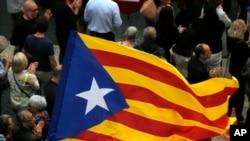 加泰罗尼亚民众支持被马德里罢免的地区领导人