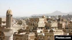 View accross Sana'a, Yemen