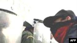 Yunanistan'da Grev Gösterisinde Gözyaşartıcı Bomba