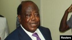 Charles Konan Banny, un des candidates à la présidentielle ivoirienne du 25 octobre 2015