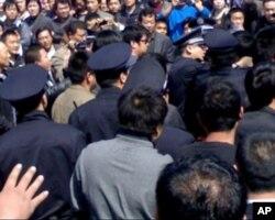 上海卡车司机集会