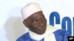 塞內加爾總統瓦德。(資料圖片)