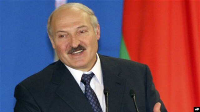 Belarus President Alexander Lukashenko (File)
