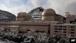 Ảnh tư liệu nhà máy điện hạt nhân ở Ohi, quận Fukui, Nhật Bản.