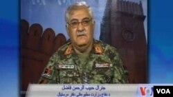 جنرال حبیب الرحمان فاضل د دفاع وزارت د مطبوعاتي ریاست مرستیال