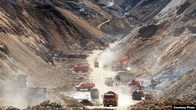 Leaders of the Mijikenda ethnic group in Kenya are concerned about mining, such as this extraction in Tibet.