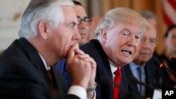 دولت ترامپ نگران دخالت ایران در سوریه است.