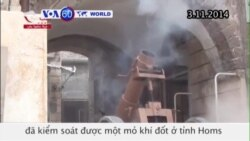 IS tuyên bố chiếm được một mỏ khí đốt ở Syria (VOA60)