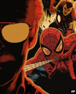 Spiderman - drawn here by Francesco Francavilla - remains Stan Lee's favorite creation