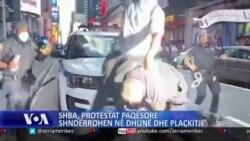 Protestat paqësore shndërrohen në dhunë dhe plaçkitje