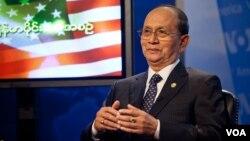 رییس جمهوری برمه در نشست پرسش و پاسخ صدای آمریکا، یکشنبه ۱۹ مه ۲۰۱۳