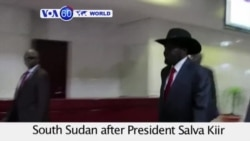 VOA60 World - U.S. proposes United Nations Security Council arms embargo on South Sudan - August 20, 2015