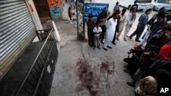 اسلام آباد کے مضافات میں وہ مقام جہاں اطلاعات کے مطابق نصیر الدین حقانی پر فائرنگ کی گئی۔
