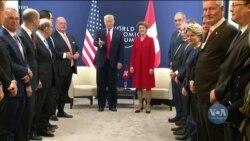Трамп у Давосі заявив про приєднання до кліматичної ініціативи. Відео