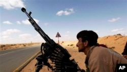 Libyan Government, Rebels Lobby for International Support