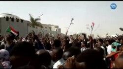 Sudan'da Darbe Sonrası Sevinç Gösterileri