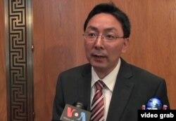 美国对外关系委员会全球卫生高级研究员黄严忠教授(视频截图)