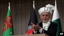 افغانستان کے صدر اشرف غنی (فائل فوٹو)