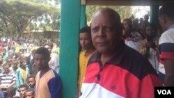 Le leader de l'opposition, Merera Gudina, président du Congrès fédéraliste oromo (OFC), le 16 mai 2015.