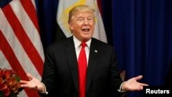 美國總統川普星期四宣佈對北韓實施新的制裁