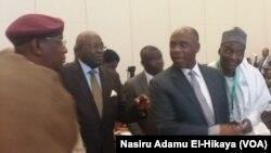 Ministan Sufuri Rotimi Amaechi a wurin kaddamar da tasoshin