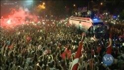 Тисячі людей вийшли на вулиці Стамбула, аби відсвяткувати найбільшу політичну поразку Ердогана за усю кар'єру. Відео