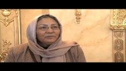 تلاش های يک زن افغان برای راهيابی به کابينه