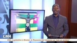 La page des sports avec Yacouba Ouedraogo