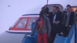 籃球球星洛文抵達北韓不會討論政治