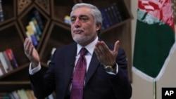 Kepala Dewan Rekonsiliasi Nasional Afghanistan, Abdullah Abdullah