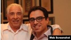 سیامک (راست) و باقر نمازی از دو سال پیش در ایران زندانی هستند.