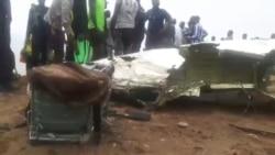 Secours et recherches s'organisent autour de l'avion abîmé au large d'Abidjan (Vidéo)