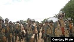 Gaashaan rapid reaction force. (Somalia Handout Photo)